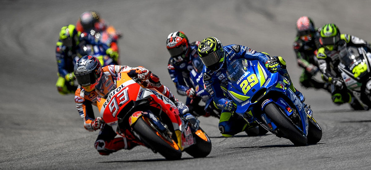 Motogp race in spain