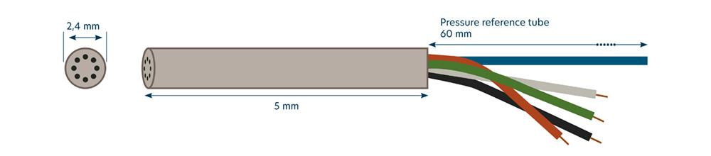 Diagram of sensorade differential pressure sensor